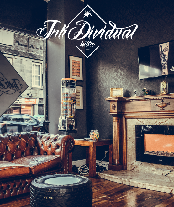 Inkdividual Tattoo Studio in Aberdeen, features resident artists Alex Chwoshchenka, Devin Evans & Adrian Schiopescu